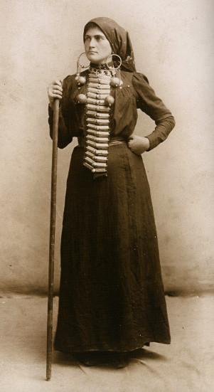 batsav   traditional women's clothes in the caucasus