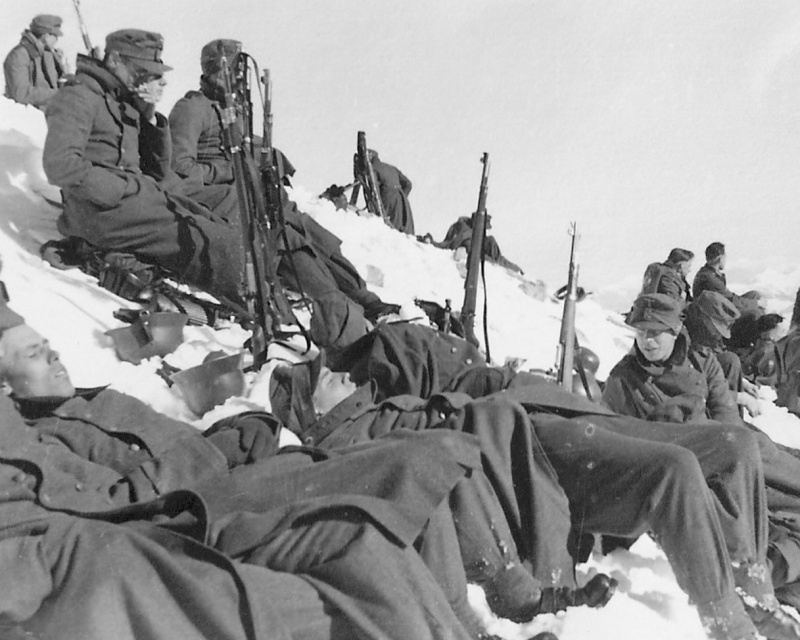 Image result for ww2 German mountain troops, Gebirgsjager