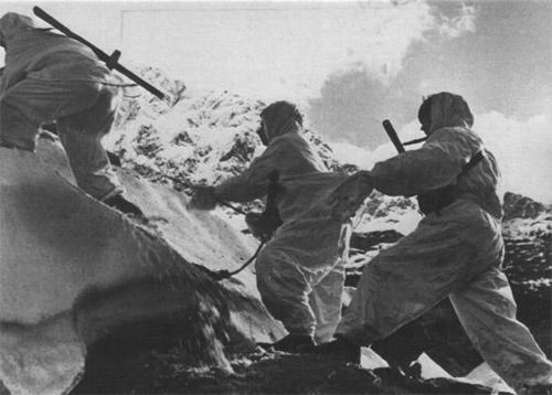 Red Army soldiers in the Caucasus in 1942
