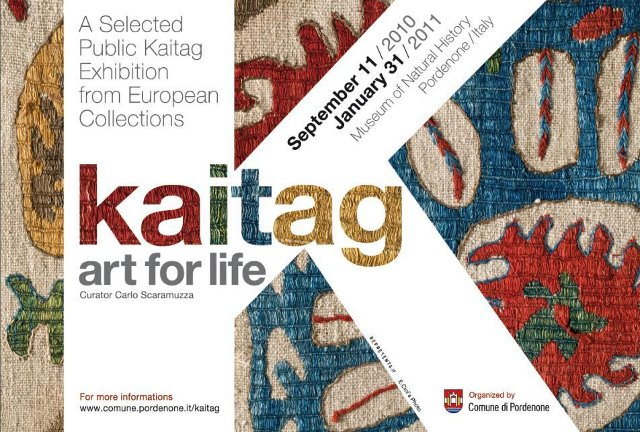 SCARAMUZZA, Carlo (ed.), Kaitag — Art for Life, a Selected Public Kaitag Exhibition from European Collections/Kaitag — Arte per la Vita, Tessuti ricamati del Daghestan